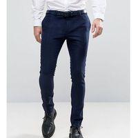 super skinny smart trouser in navy - navy, Noak