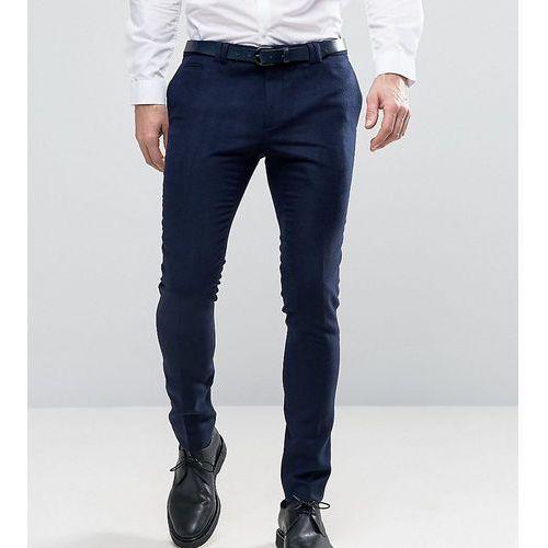 super skinny smart trouser in navy - navy marki Noak