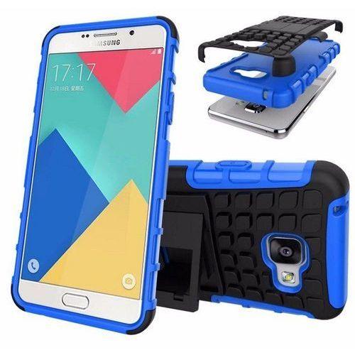 Perfect Armor Niebieska   Pancerna obudowa etui dla Samsung Galaxy A5 2016 - Niebieski