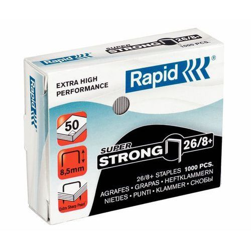 Zszywki super strong 26/8+ 1m - 24861600 marki Rapid