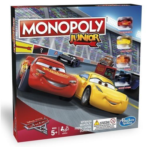 OKAZJA - Monopoly junior auta 3 marki Hasbro