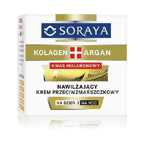 Soraya kolagen argan krem nawilżający przeciwzmarszczkowy na dzień i noc 50ml - soraya od 24,99zł darmowa dostawa kiosk ruchu (5901045063126)