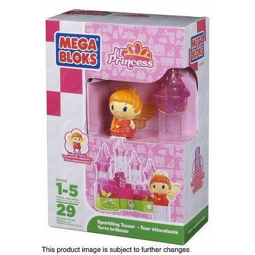 Mega Bloks Lil' Princess i lśniąca wieża