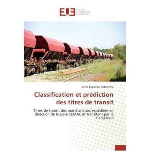 Classification et prédiction des titres de transit