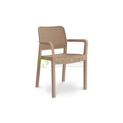 Krzesło ogrodowe SAMANNA cappuccino