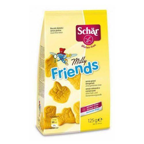 Milly friends- herbatniki bezglutenowe 125g Schar, 8008698032084