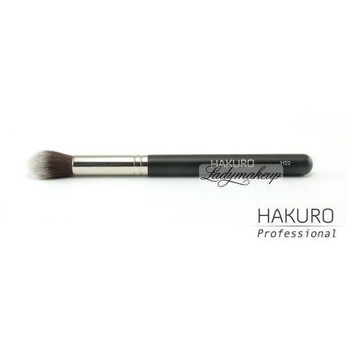 Hakuro - Pędzel do aplikacji korektora/ pudru w okolice oczu - H22 - OKAZJE