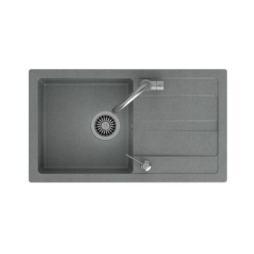 Zlewozmywak granitowy z baterią i koszykiem Play Stainer (5903242536267)