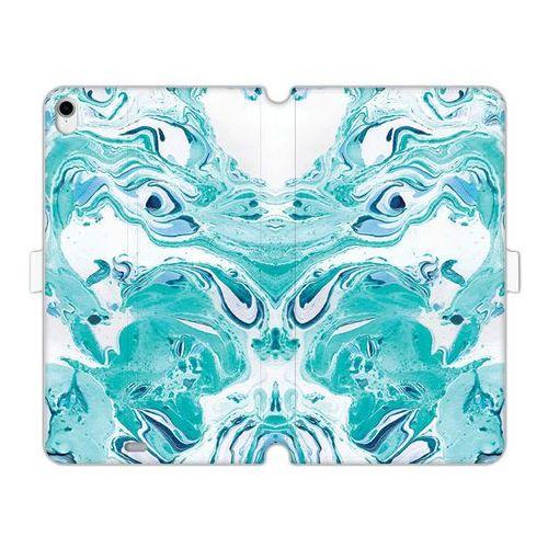 Etuo wallet book fantastic Apple ipad pro 11 - etui na tablet wallet book fantastic - niebieski marmur