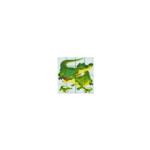 Klocki 16 elementowe zielone