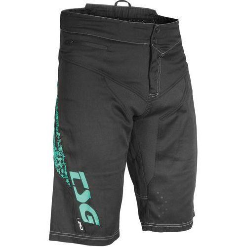 Tsg mj2 spodnie krótkie mężczyźni, black-turquoise m 2019 spodenki rowerowe