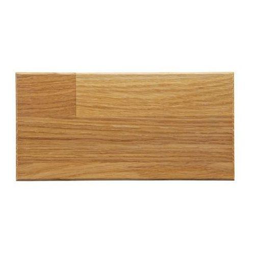 próbka drewna dębowego olejowany naturalnie 10x25 - woood 359952-na marki Woood