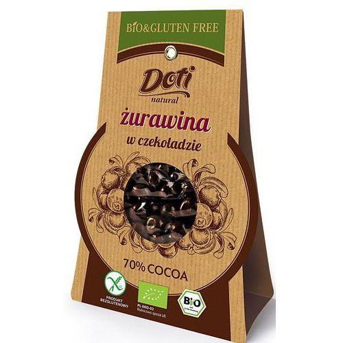 Doti Żurawina w czekoladzie deserowej bio 60g. -