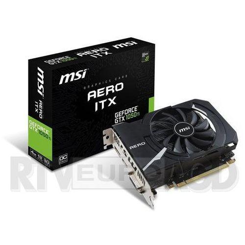 MSI GeForce GTX 1050 Aero ITX OC 2GB GDDR5 128 Bit - produkt w magazynie - szybka wysyłka!, GEFORCE GTX 1050 GAMING X 2G