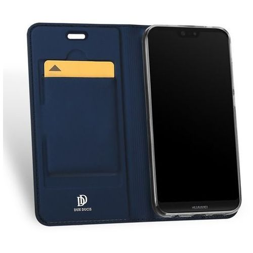 Etui Skin Pro DuxDucis do Huawei P20 Lite Granatowe (6934913090985)