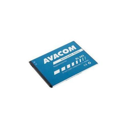 Bateria  pro lenovo a7000, li-ion 3,8v 3000mah ( bl243) marki Avacom