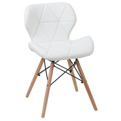 Meblemwm Nowoczesne krzesło skandynawskie art118 białe