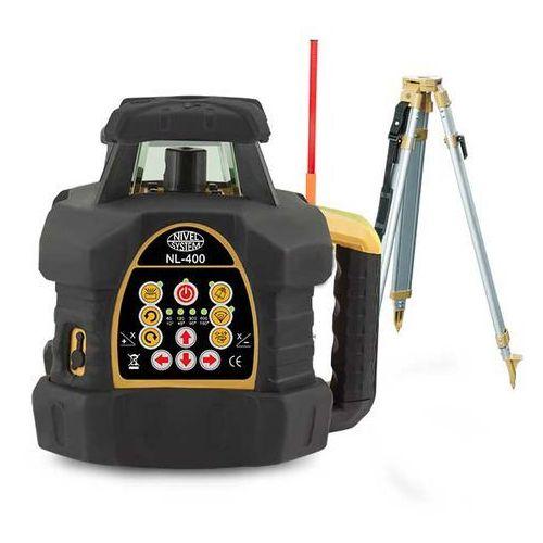 Niwelator laserowy Nivel System NL400 Digital + łata + statyw