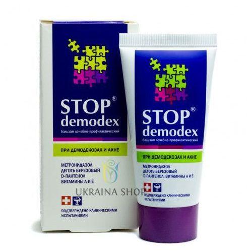 Balsam stop demodex (demodekoza, nużyca, trądzik), 50 ml, demodex folliculorum marki Fbt