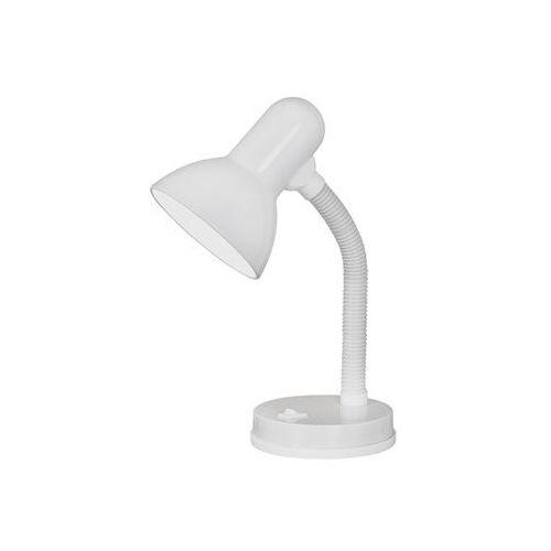 Lampka stołowa Eglo Basic 9229 lampa oprawa biurkowa 1x40W E27 biała (9002759922900)