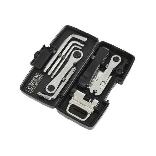 mini toolbox narzędzie rowerowe czarny zestawy narzędzi marki Red cycling products