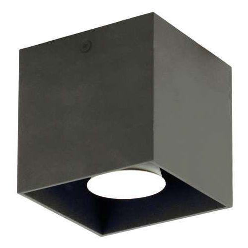 Lampex Plafon quado czarny