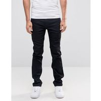 Lee Rider Stretch Slim Jeans Black Cap - Black, jeans