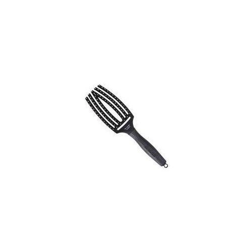 Olivia garden finger brush, szczotka do rozczesywania i masażu, włosie dzika, średnia (5414343006523)