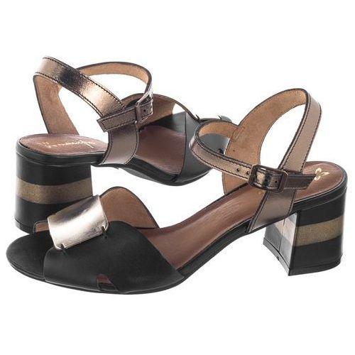 Sandały czarne/brązowe 04120-01/00-5 (ma481-a) marki Maciejka