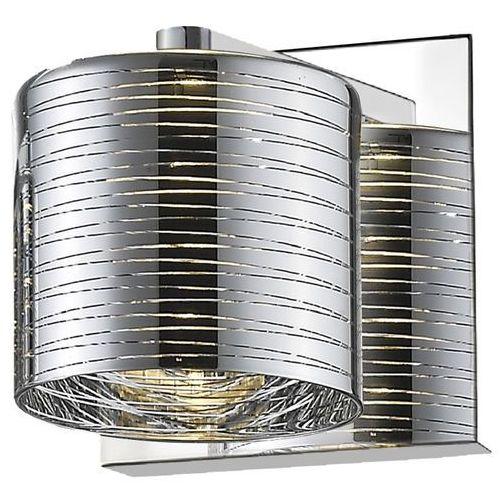 Kinkiet Zuma Line Pioli W0369-01A-B5GW lampa ścienna 1x42W G9 chrom
