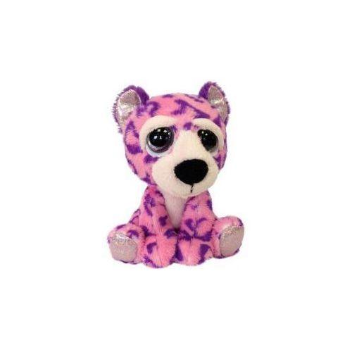 Leopard Brooke różowo-fioletowy 15 cm