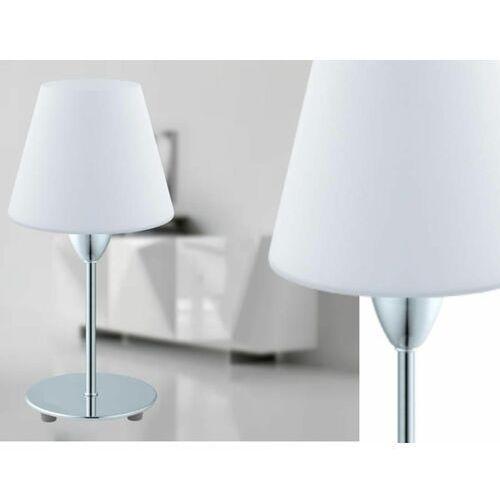 Eglo DAMASCO 1 Lampa stołowa Chrom, 1-punktowy - Nowoczesny - Obszar wewnętrzny - 1 - Czas dostawy: od 2-3 tygodni (9002759957865)