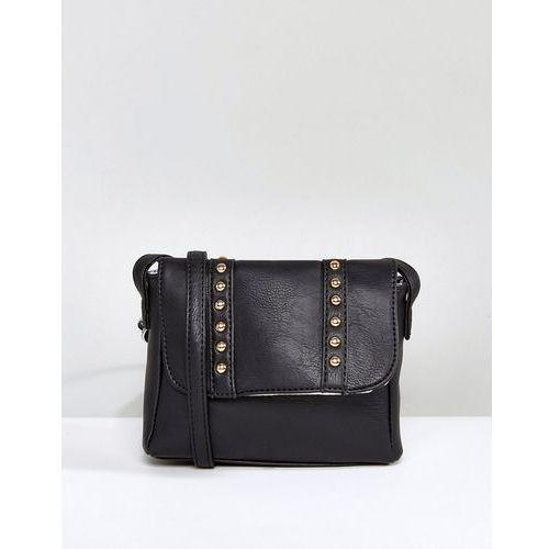 Yoki Across Body Bag With Studding - Black, kolor czarny