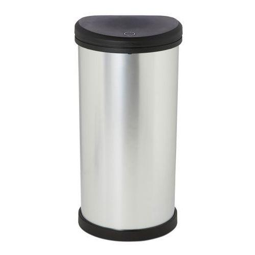 Cooke&lewis Kosz na śmieci touch top deco 40 l srebrny