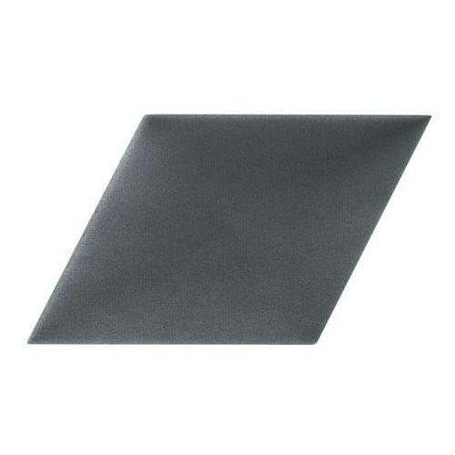 Panel ścienny tapicerowany Stegu Mollis równoległobok 30 x 30 cm ciemnoszary P (5907762320382)