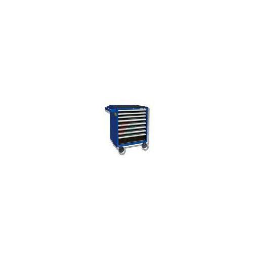 KINGTONY Wózek warsztawpowy niebieski 8 szuflad, 190 cz. narzędzi, 87437-8C