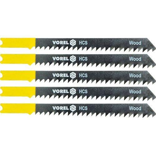 Brzeszczot do wyrzynarki, uchwyt typu b&d, do drewna, kpl 5szt. 27830 - zyskaj rabat 30 zł marki Vorel