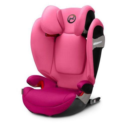 gold fotelik samochodowy solution s-fix passion pink-purple marki Cybex