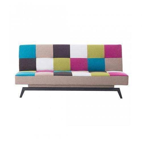 Sofa do spania - patchwork - kanapa - rozkładana - wypoczynek - silvestro marki Blmeble