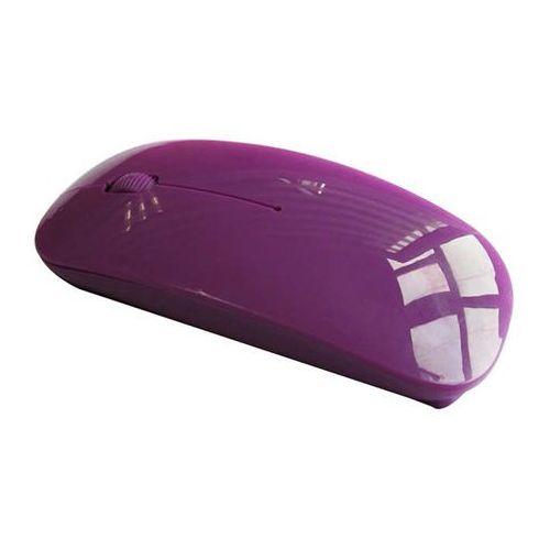 Mysz komputerowa bezprzewodowa (fioletowa) marki Laptopshop