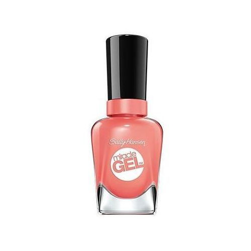 Miracle gel lakier do paznokci 380 malibu peach 14,7ml od producenta Sally hansen