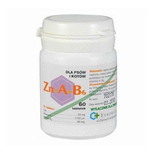 zn-a-b6 tabletki z cynkiem dla psów i kotów marki Eurowet