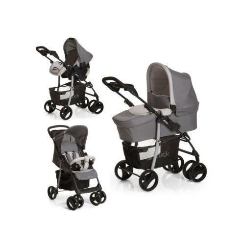 wózek dziecięcy slx trioset stone/grey marki Hauck