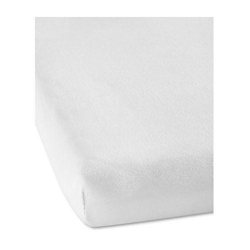 """Prześcieradło z gumką na materac nawierzchniowy """"elastic jersey topper"""" biały marki Bonprix"""