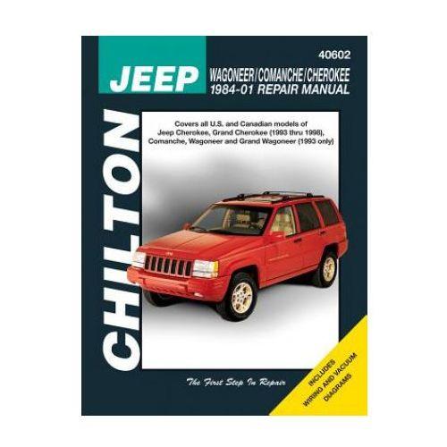 Jeep Wagoneer, Commanche i Cherokee 1984 - 2001 (9781563927102)