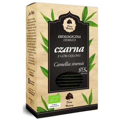 Herbata czarna bio (25 x 1,5 g) - dary natury marki Dary natury - herbatki bio