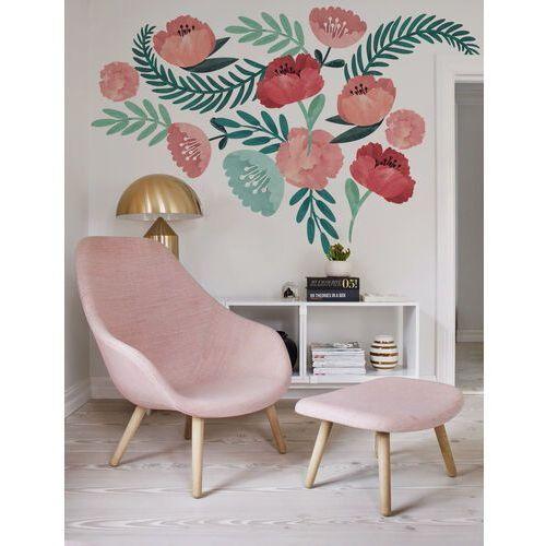 Naklejki na ścianę maki w stylu vintage marki Coloray.pl