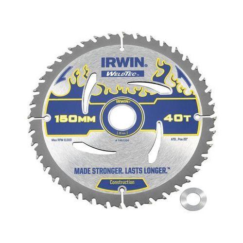 Irwin weldtec Tarcza do pilarki tarczowej 150 mm/40t/20(16)