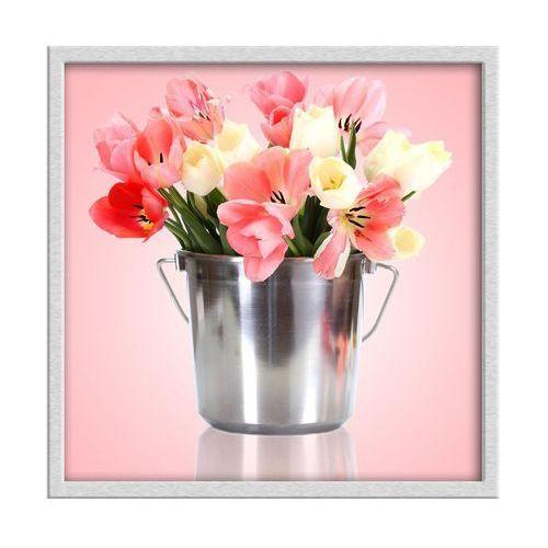 Knor Obraz tulipany 30 x 30 cm