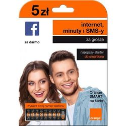 Orange Starter smart na kartę 5 pln